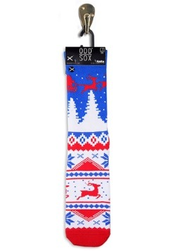 Winter Ugly Sweater Knit Odd Sox