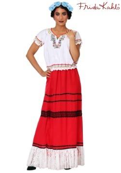 Women's Red Frida Kahlo Costume