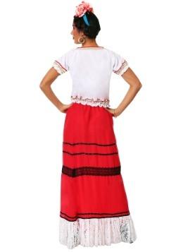 Women's Red Frida Kahlo Costume alt 1