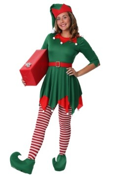 Women's Plus Size Santa's Helper Costume