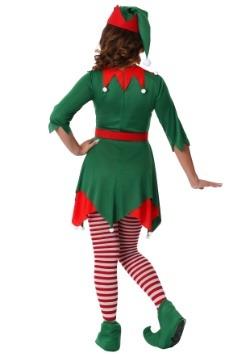 Women's Plus Size Santa's Helper Costume Back