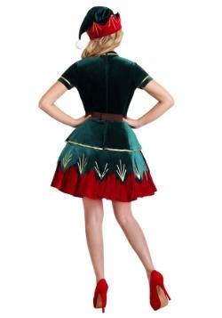 Women's Deluxe Holiday Elf Costume