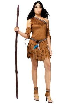 Women's Sexy Native American Costume