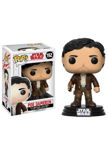 Star Wars The Last Jedi Funko Pop Poe Dameron