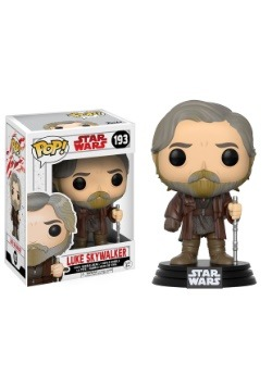 Star Wars The Last Jedi Funko Pop Luke Skywalker Bobblehead