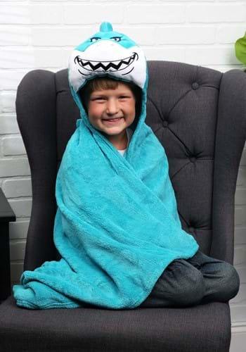 Seymour the Shark Comfy Critter Blanket