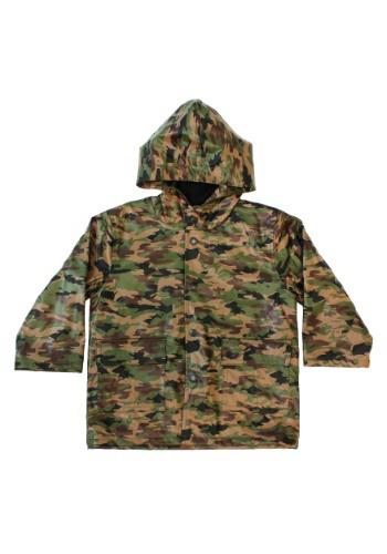 Camo Rain Coat