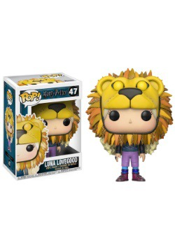 Pop! Harry Potter: Luna Lovegood (Lion Head)