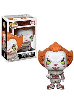Pop! Movies: IT- Pennywise (boat) w/CHASE Alt 2 Upd