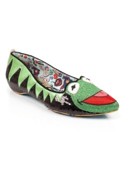 Irregular Choice Muppets Kermit The Frog Flats
