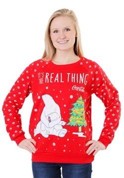 Coca Cola Polar Bear Juniors Light Up Sweatshirt