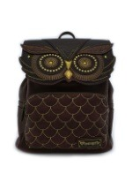 Owl Faux Leather Mini Backpack