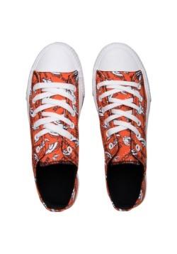 Denver Broncos Low Top Womens Canvas Shoe2