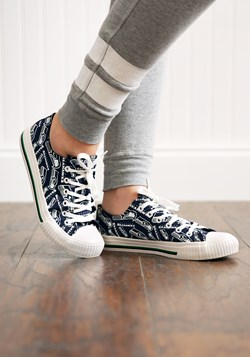 Seattle Seahawks Low Top Women's Canvas Shoes