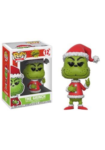 Pop! Books: The Grinch Santa Grinch w/ CHASE