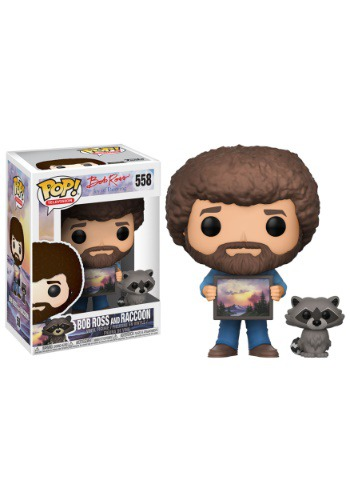 Pop! TV: Bob Ross w/ Raccoon w/ Chase