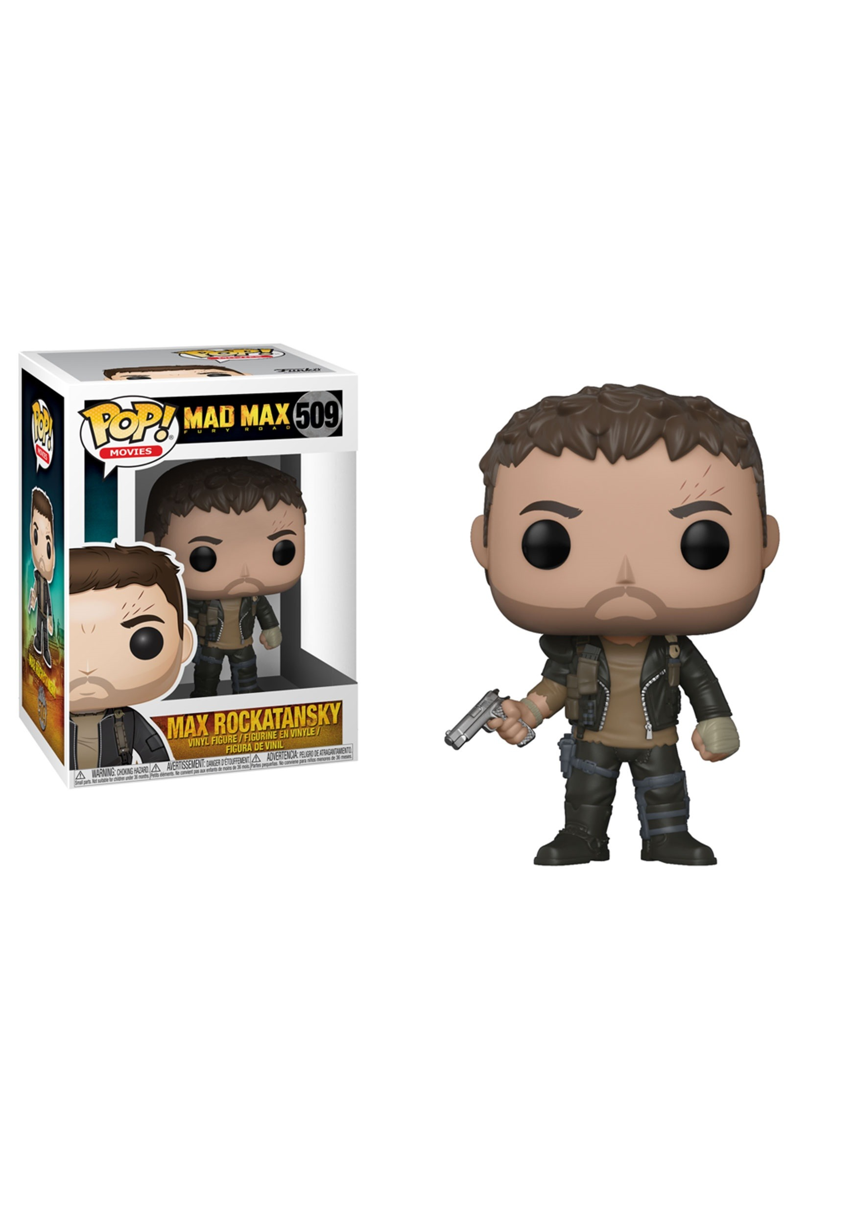 Nux Shirtless Brand New In Box Mad Max Fury Road POP Movies Funko