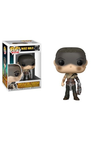 Pop! Movies Mad Max Fury Road Furiosa w/ Chase