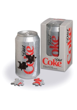 Diet Coca-Cola 3-D Can 40pc Puzzle