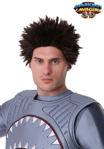 Adult Spiky Sharkboy Wig
