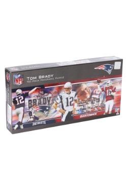 Tom Brady Patriots Panoramic Jigsaw Puzzle