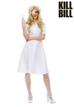 Plus Size Elle Driver Nurse Costume