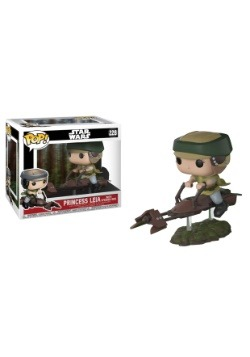 Pop! Deluxe: Leia on Speeder Bike