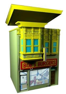 Bob's Burgers Lidded Cookie Jar