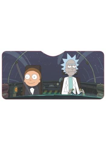Rick & Morty Car Shade