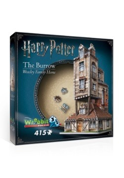 Harry Potter The Burrow Weasley Family Home 3D Jigsaw Puzzle