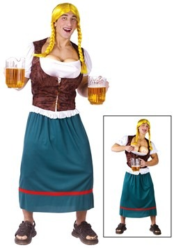 Men's German Beer Girl Costume