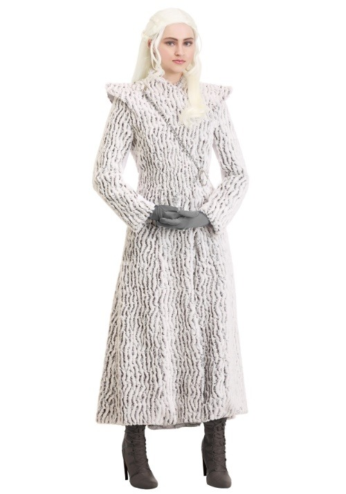 Dragon Queen Women's Costume Winter alt 2