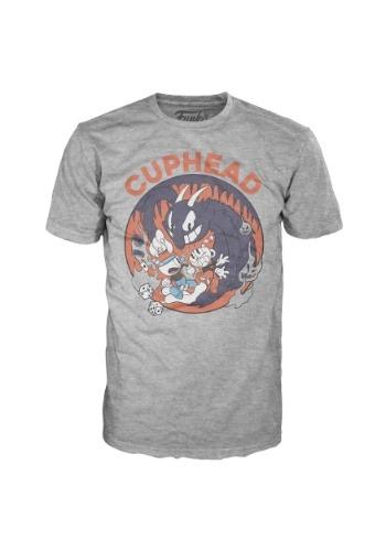 Pop! Tees: Cuphead Mugman Devil Adult T-Shirt