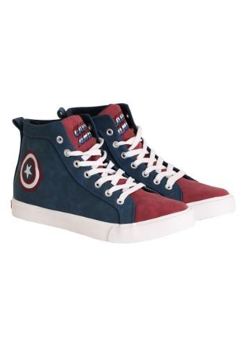 Captain America Logo Shoe