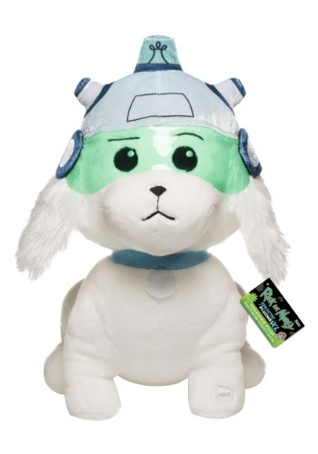 """Rick and Morty 12"""" Snowball Plush w/ sound"""