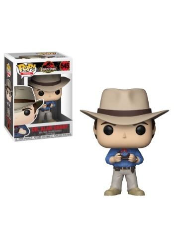 Pop! Movies: Jurassic Park Dr. Alan Grant