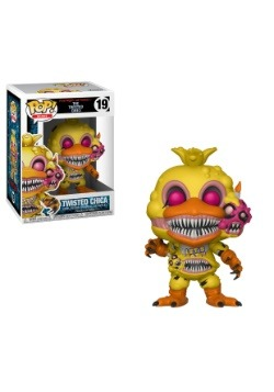 Pop! Books: Five Nights at Freddy's Twisted Chica Figure