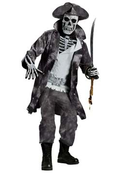 Swashbuckling Ghost Pirate Costume