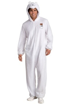 Men's We Bare Bears Ice Bear Costume
