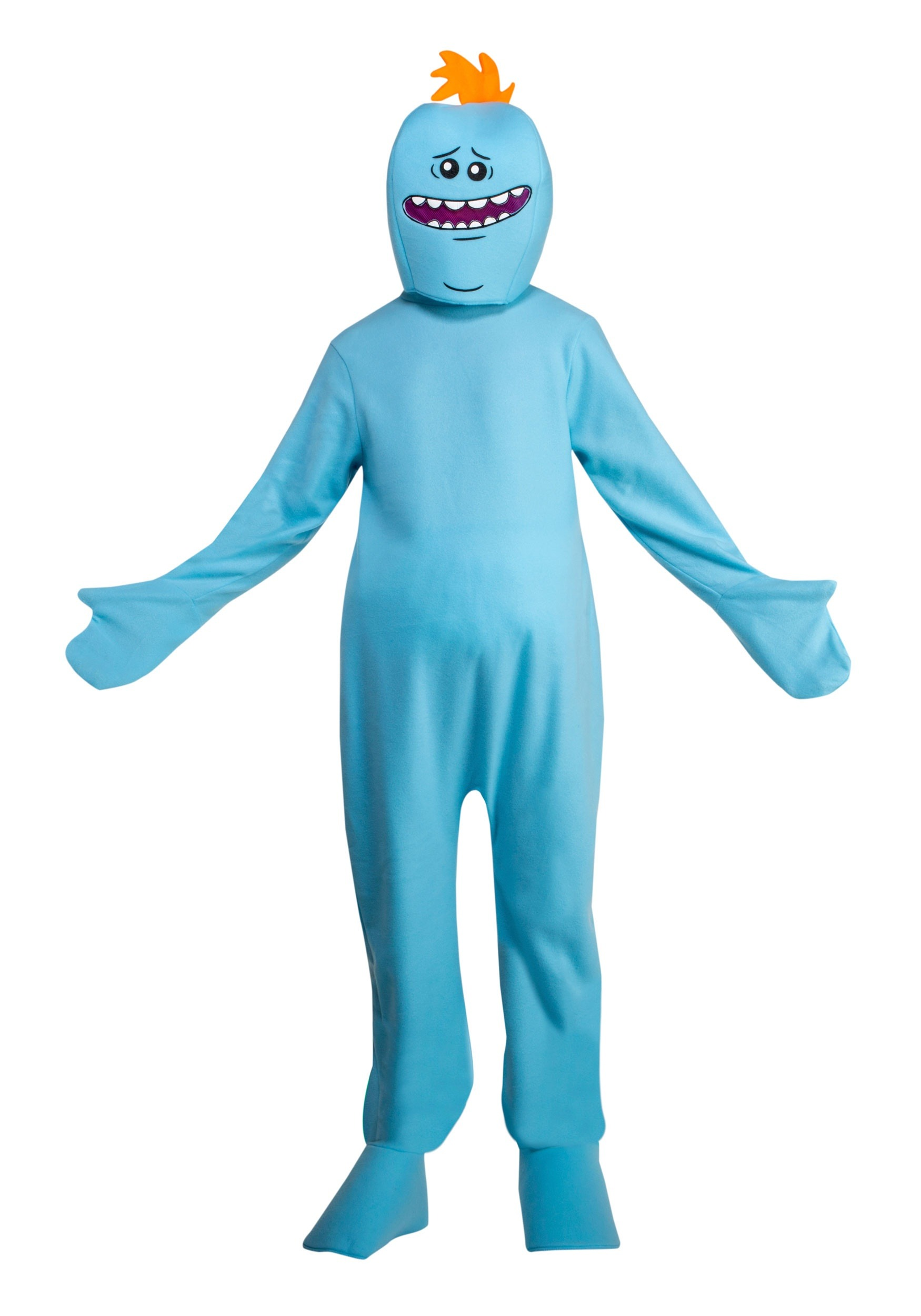 Mr. Meeseeks Rick and Morty Adult Costume 3e7f2f296