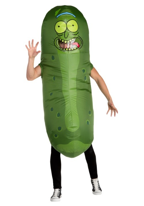 Adult Rick and Morty Pickle Rick Inflatable Costume