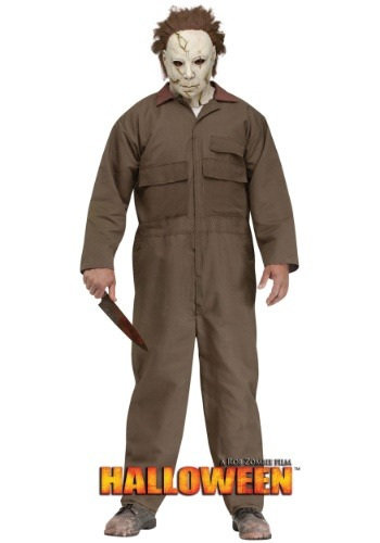 Mens Rob Zombie Halloween Michael Myers Costume