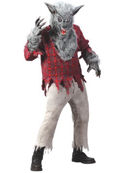 Grey Werewolf Costume