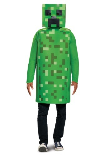Minecraft Classic Creeper Costume