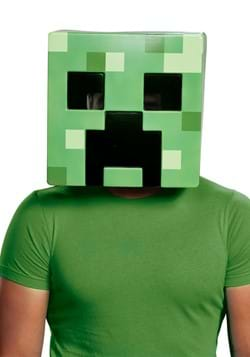 Minecraft Adult Creeper Half Mask