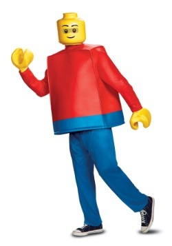 Deluxe LEGO Adult Lego Guy Costume