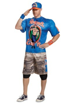 WWE Adult John Cena Muscle Costume