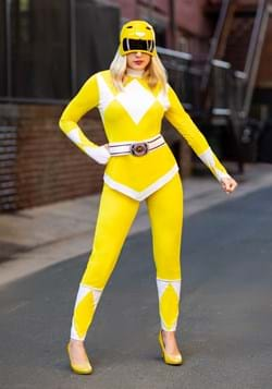 Adult Power Rangers Yellow Ranger Costume Update