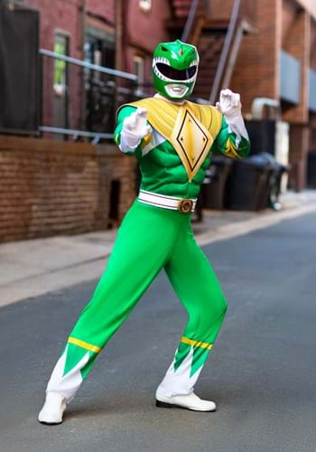 Adult Power Rangers Green Ranger Costume