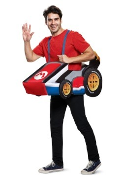 Super Mario Kart Adult Mario Ride In Costume
